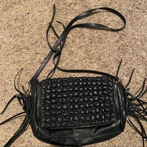 Liebeskind black leather handbag